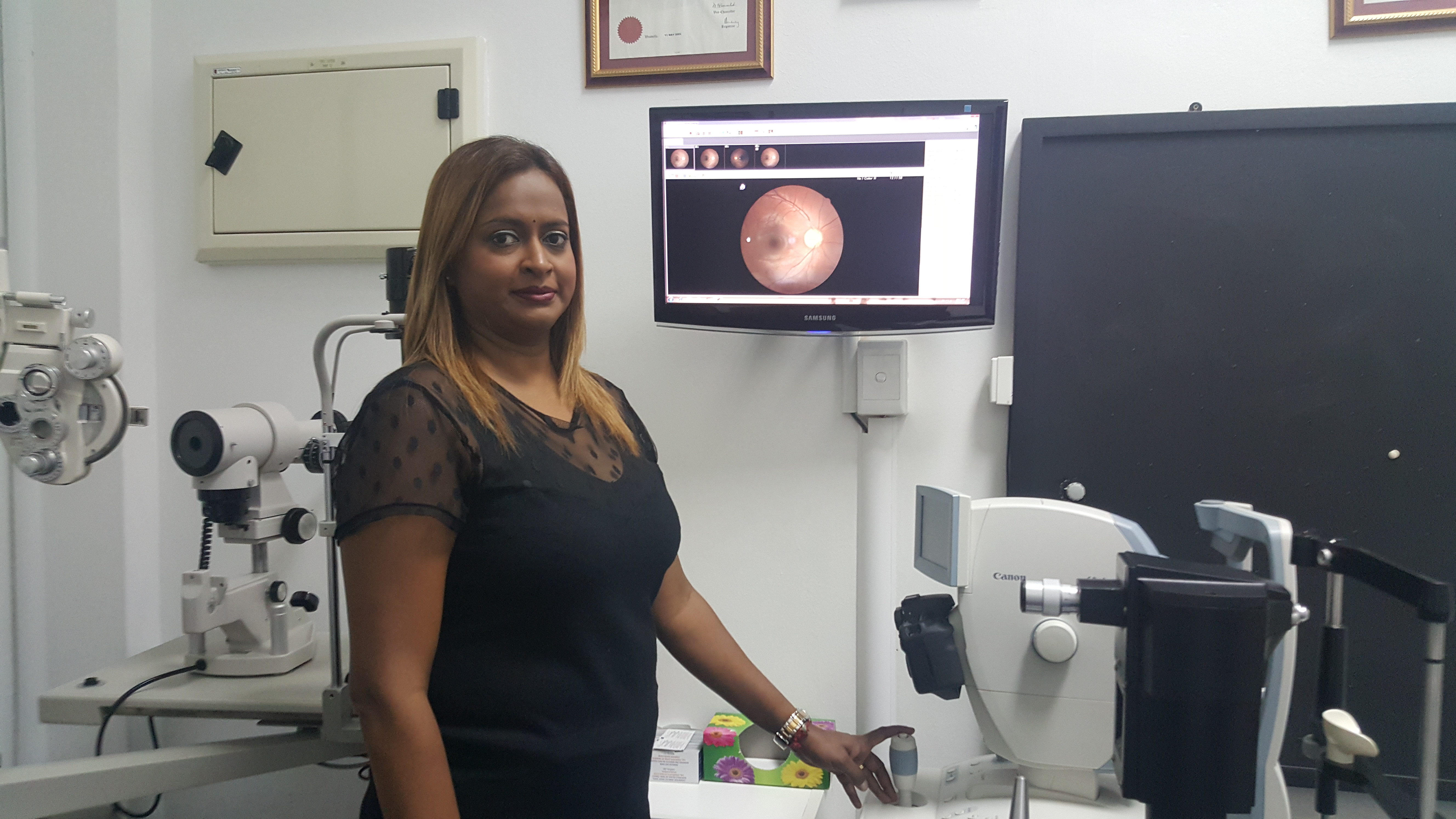 Our Optometrist Thiru Arjoon