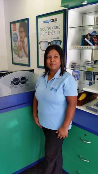 "Admin Supervisor: Kamani Murugan - ""I have been with Spec-Savers almost a decade now and it has been truly an epic journey. I started out at the branch in Stanger & have now joined the Ballito Lifestyle branch. I am please to advise you that i will now be looking after all your admin related queries."""