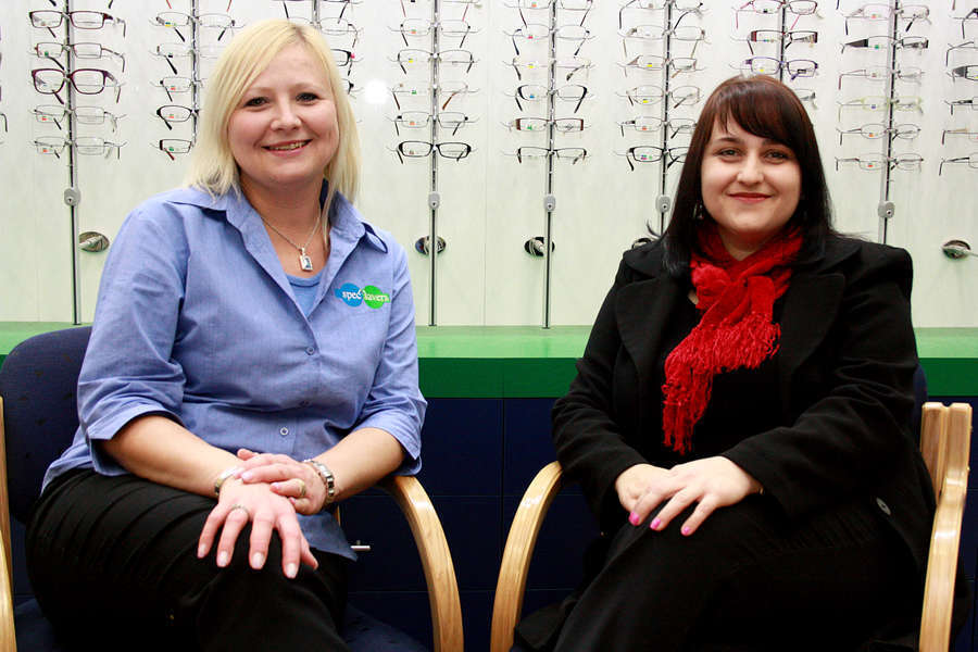 Practice Manager - Adele Booysen (left)
