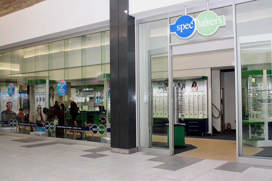 Shop Front, from right angle - East Point Centre