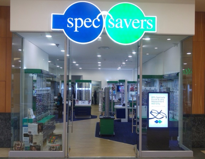 Spec-Savers Gateway store front