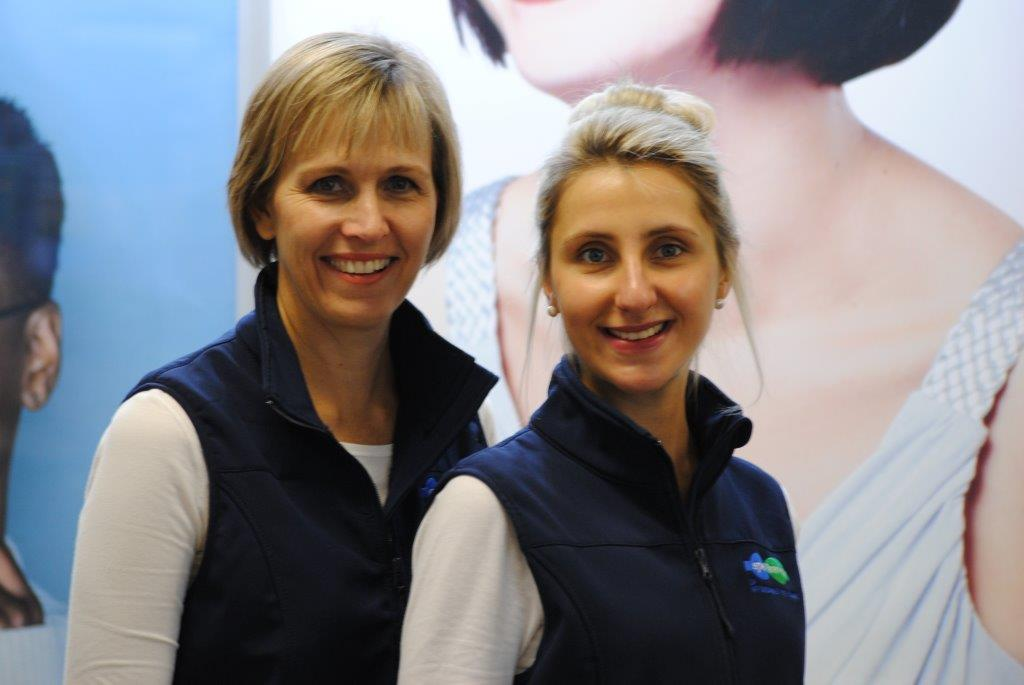 Optometrists: Odette Truter and Wilna Scheepers