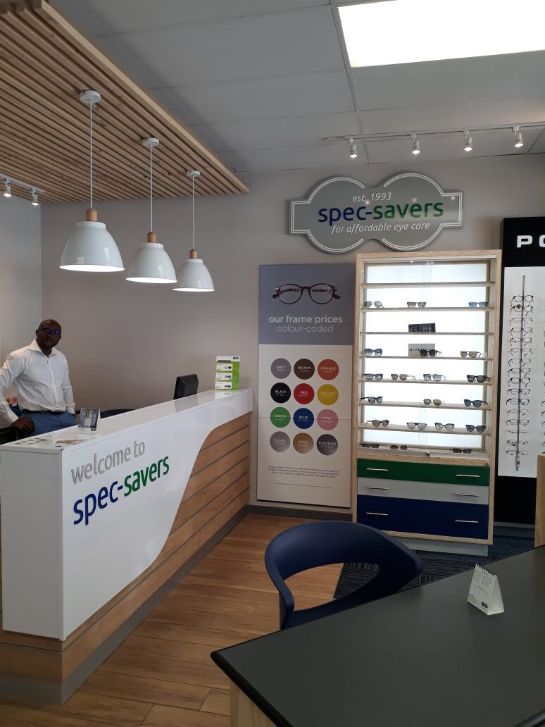 Our Franchisee in our warm bright reception area