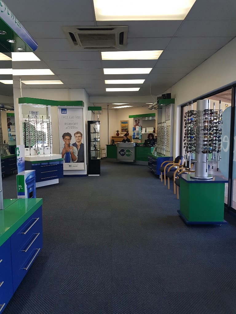 A view of the interior at Spec-Savers Rietfontein