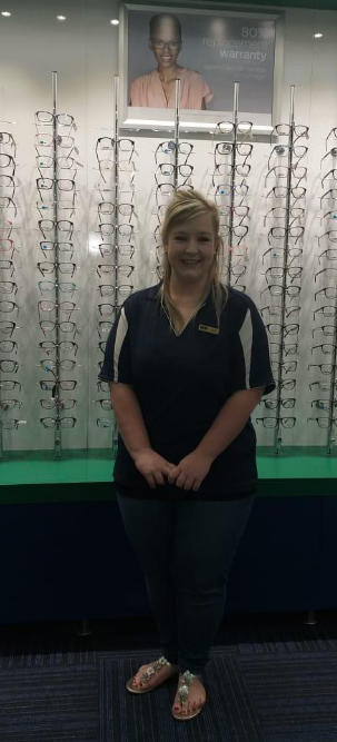 Optical Assistant: Carina Maree