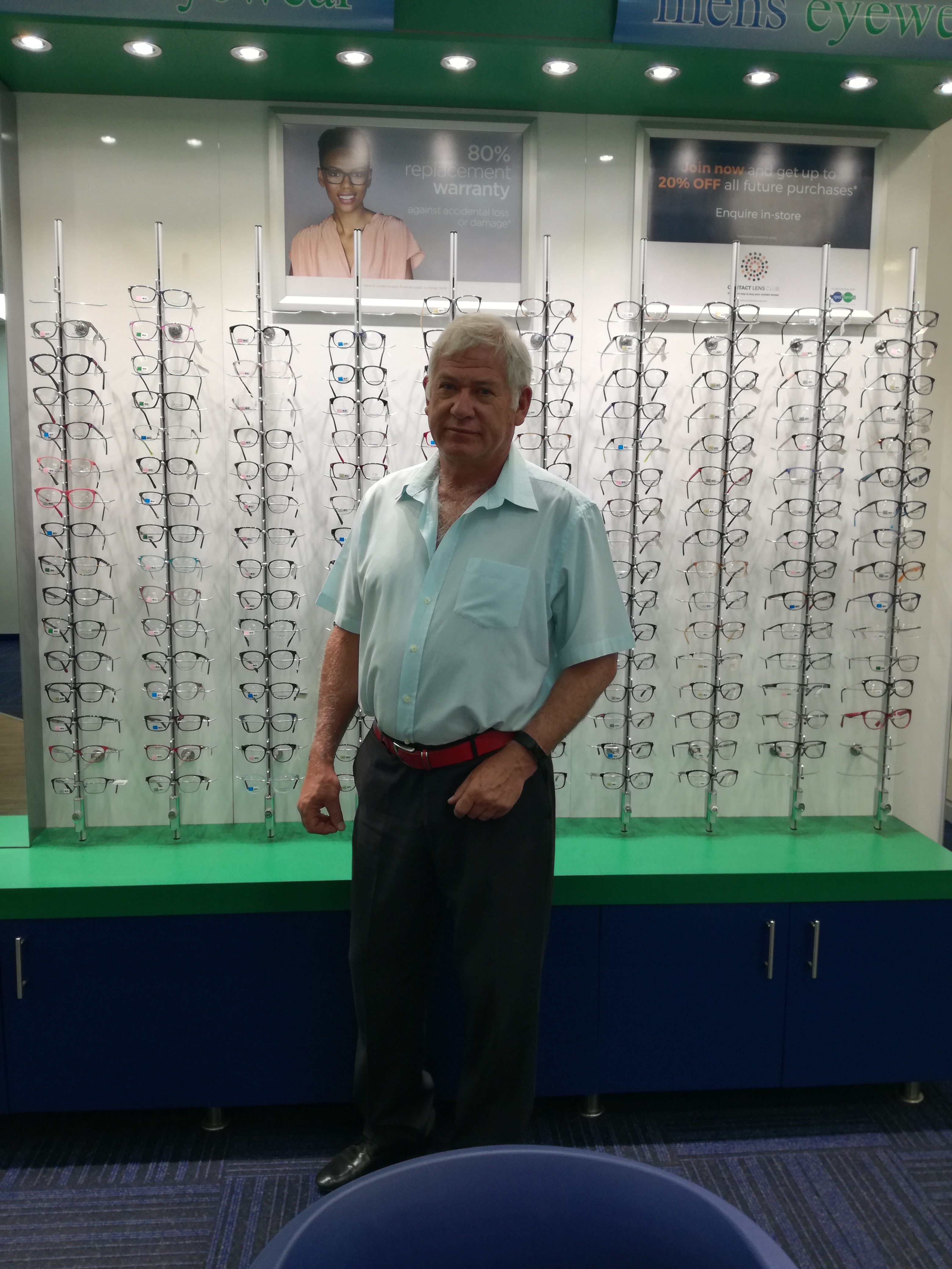 Optometrist: Abrie Stander