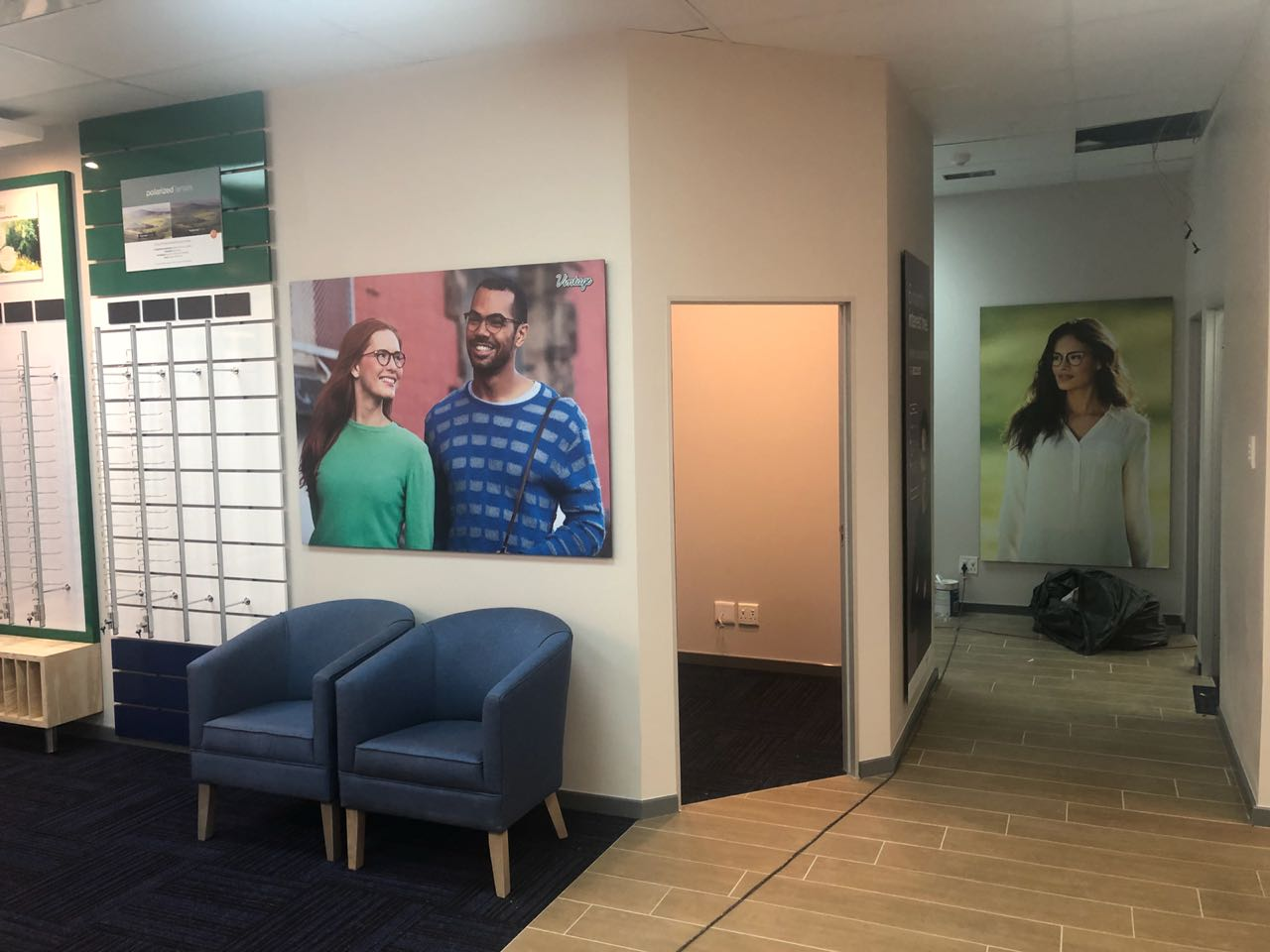 A sneak peak preview of the new look at Spec-Savers Westgate opening 27 August 2018