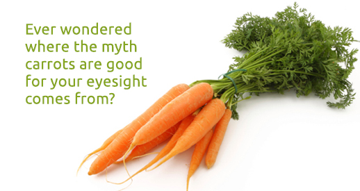 Carrots for your eyesight