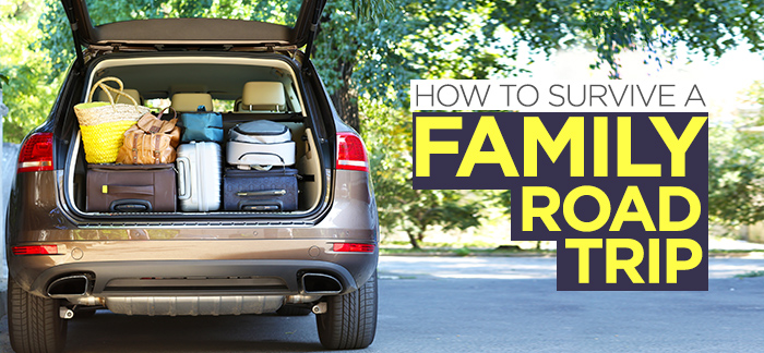 How to survive a family road trip