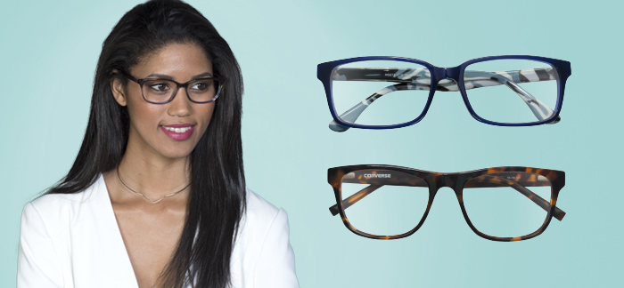 25b409a2529 Chunky frames are a hot trend and definitely a bold fashion statement to  make. This kind of frame goes well with many types of faces. An essential  eyewear ...
