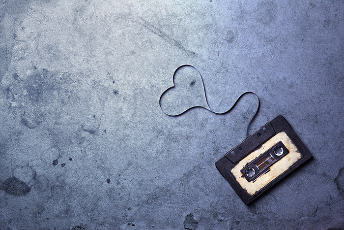 Giving the Gift of Music this Valentine's Day- Revival of the Mix Tape