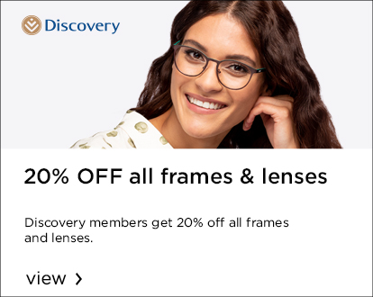 Get 20% off all frames and lenses