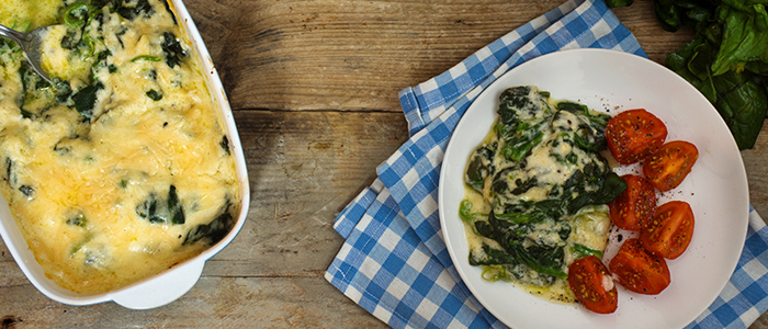 Spinach And Mozzarella Egg Bake - Food For Eyes - Spec-Savers South ...